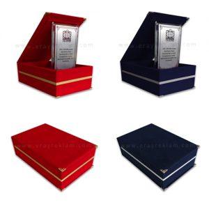 Standart Kristal Plaket Kutuları
