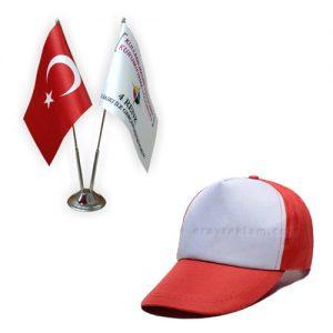 Süblimasyon Şapka ve Bayraklar